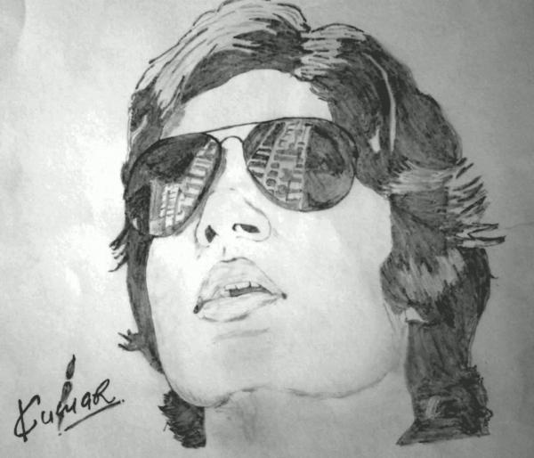 Amitabh Bachchan by Kumarr